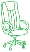 Хичистка офисного кресла