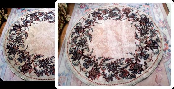 Чистка шерстяных и шёлковых ковров