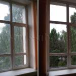 Мойка окна
