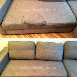 Химчистка серого дивана