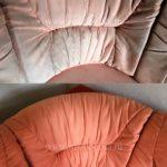 Химчистка розового дивана