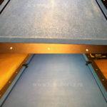 Химчистка синего бильярдного стола